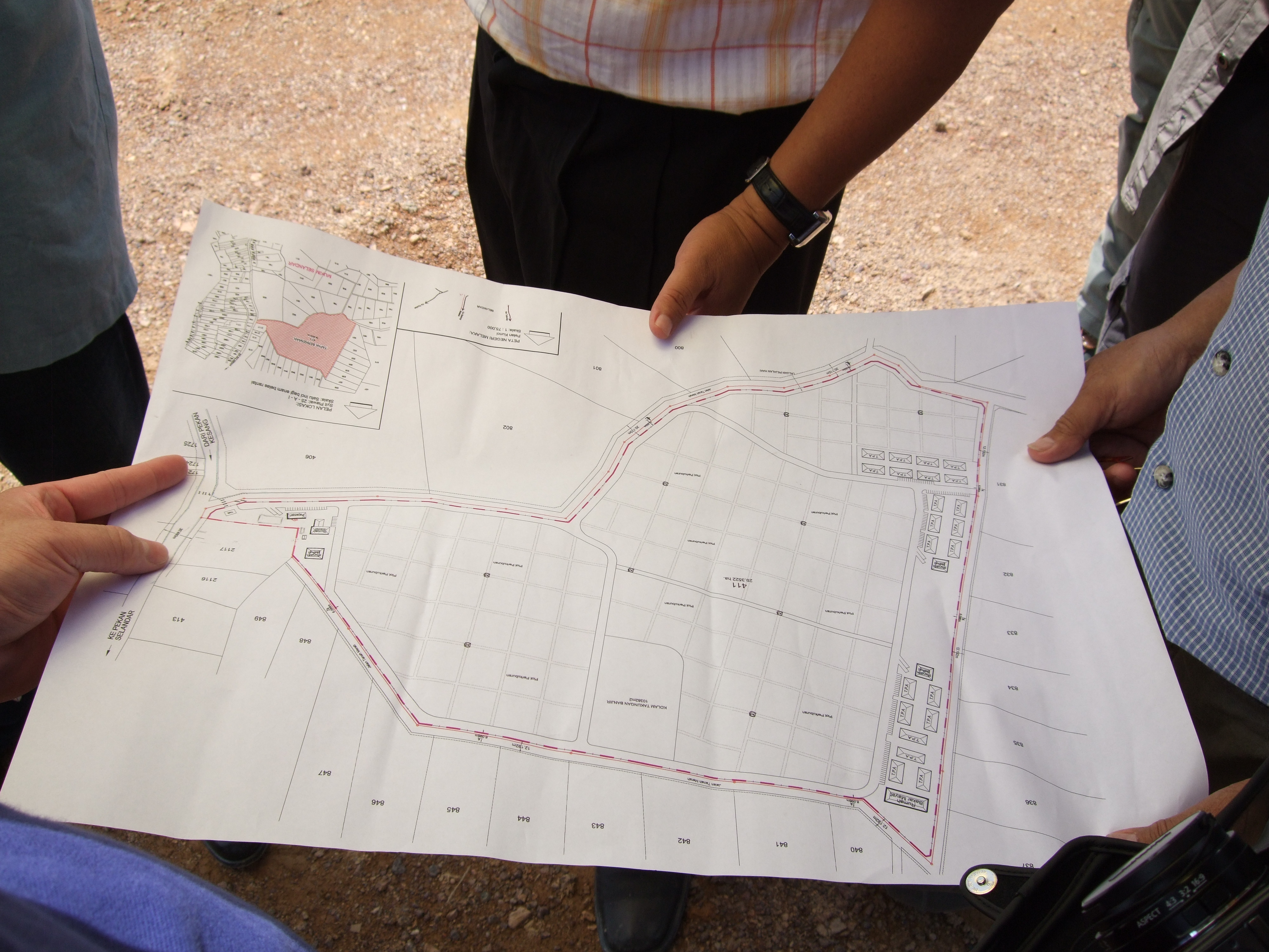Assessing Location Site Map